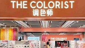 The exterior of a The Colorist store. The Colorist