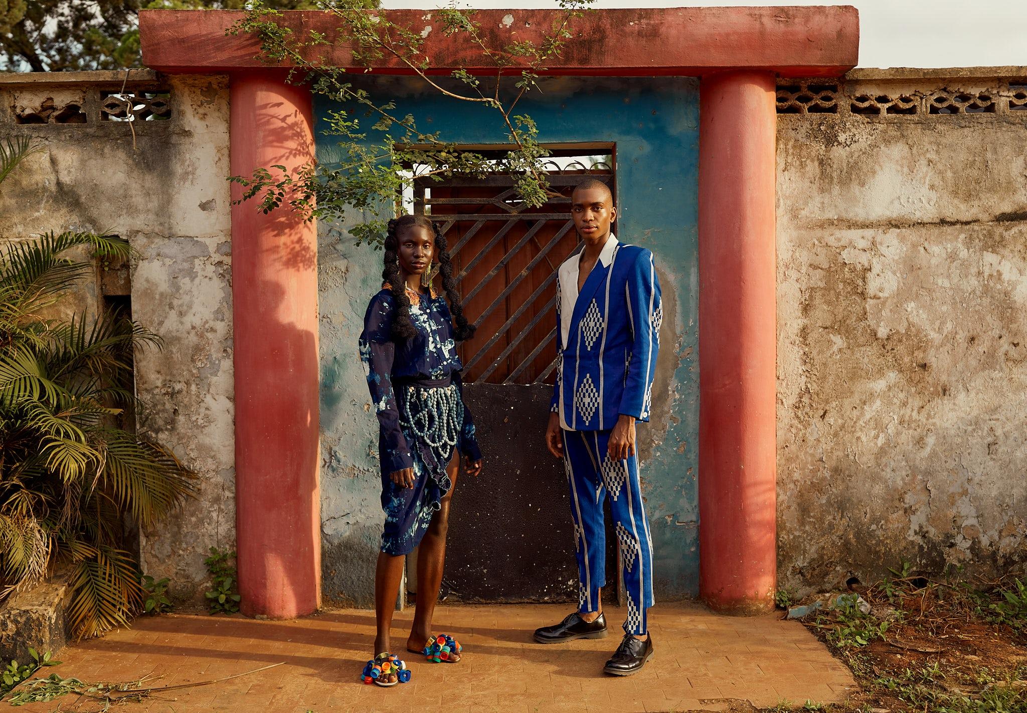 Lagos Fashion Week campaign 2021. Lagos Fashion Week.