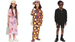 Ssense launches kidswear assortment. Courtesy.