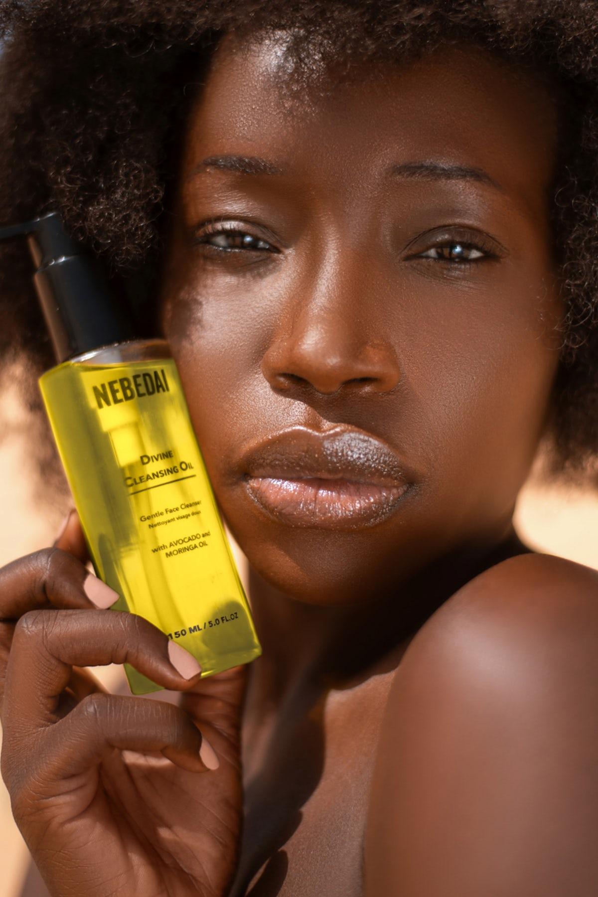 Senegal-based Nebedai beauty campaign. Nebedai.