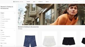Lululemon's resale site. Screenshot.