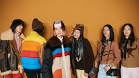 Backstage at the debut of Coach's Winter runway show and a new episode of Coach TV in Shanghai. Coach.