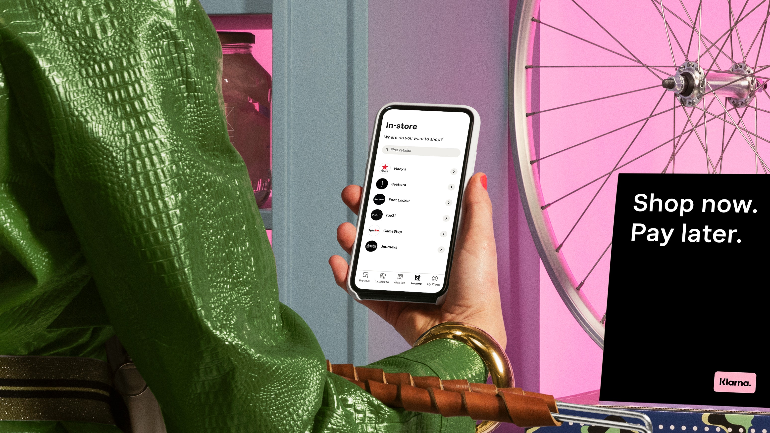 Klarna reported a record second quarter, growing gross merchandise value over 300 percent. Klarna.