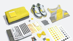"""Pantone's 2021 colours of the year are """"Ultimate Gray"""" and """"Illuminating. Photo: Pantone."""