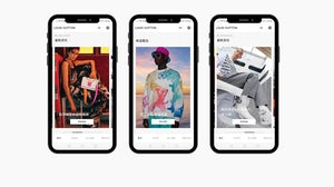 Customers will still be redirected to luxury brands' mini-programmes to complete purchases. Louis Vuitton WeChat
