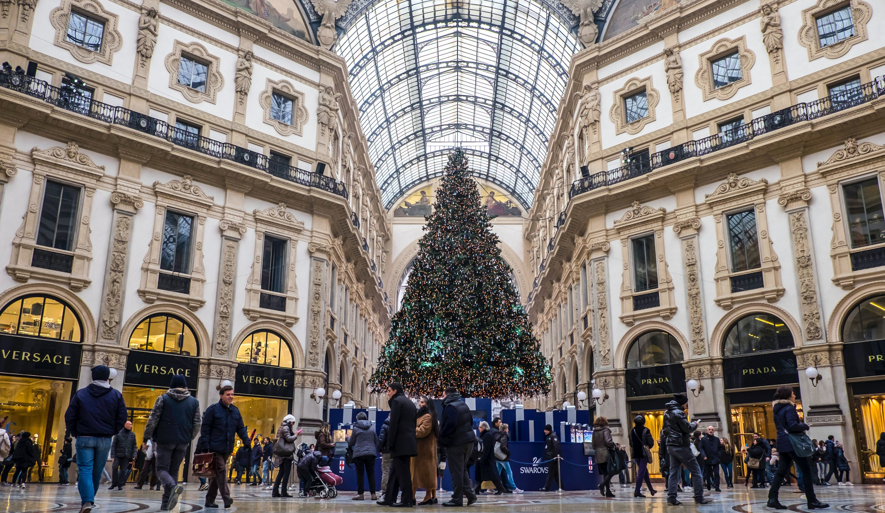 Christmas shopping in Milan, Italy | Source: Getty