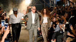 Law Roach, Tommy Hilfiger and Zendaya. Courtesy.