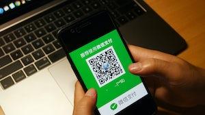 WeChat payment | Source: Shutterstock