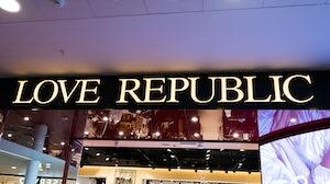 A Love Republic store in Saint Petersburg. Shutterstock