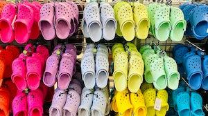 Crocs shoes. Shutterstock.