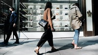 Shoppers in New York City. Getty Images.