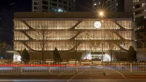 The exterior of the newly opened SKP-S in Beijing. SKP.