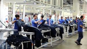 Garment factory. Shutterstock