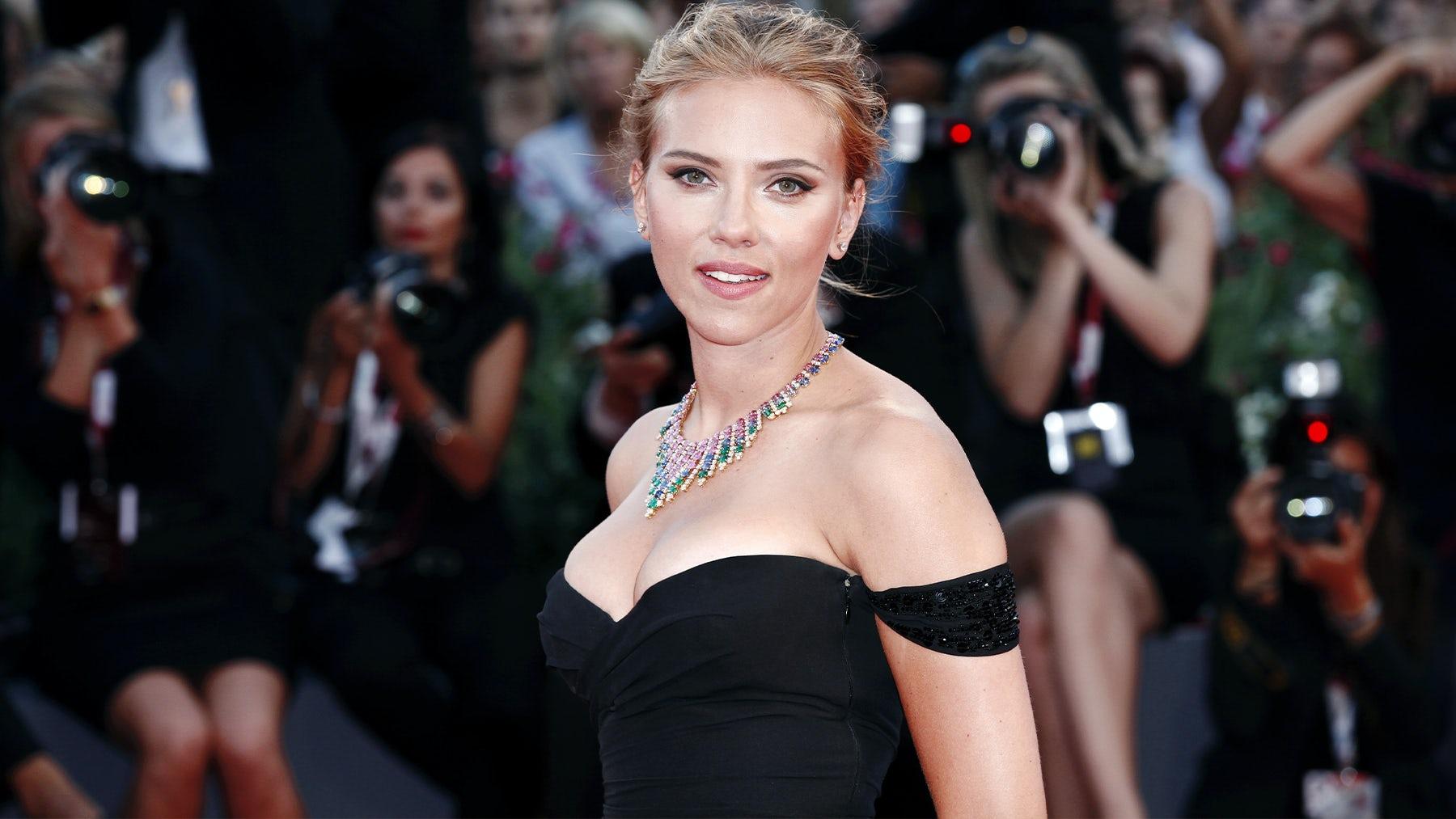 Scarlett Johansson. Shutterstock.