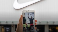 Nike's Run Club mobile app. Getty Images.