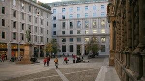 Palazzo San Fedele in Milan. Wikimedia Commons
