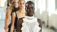 Models on the runway for Altuzarra at New York Fashion Week. JP Yim/Getty Images