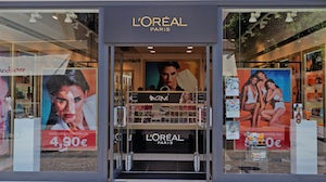 L'Oreal Store Front. Shutterstock.