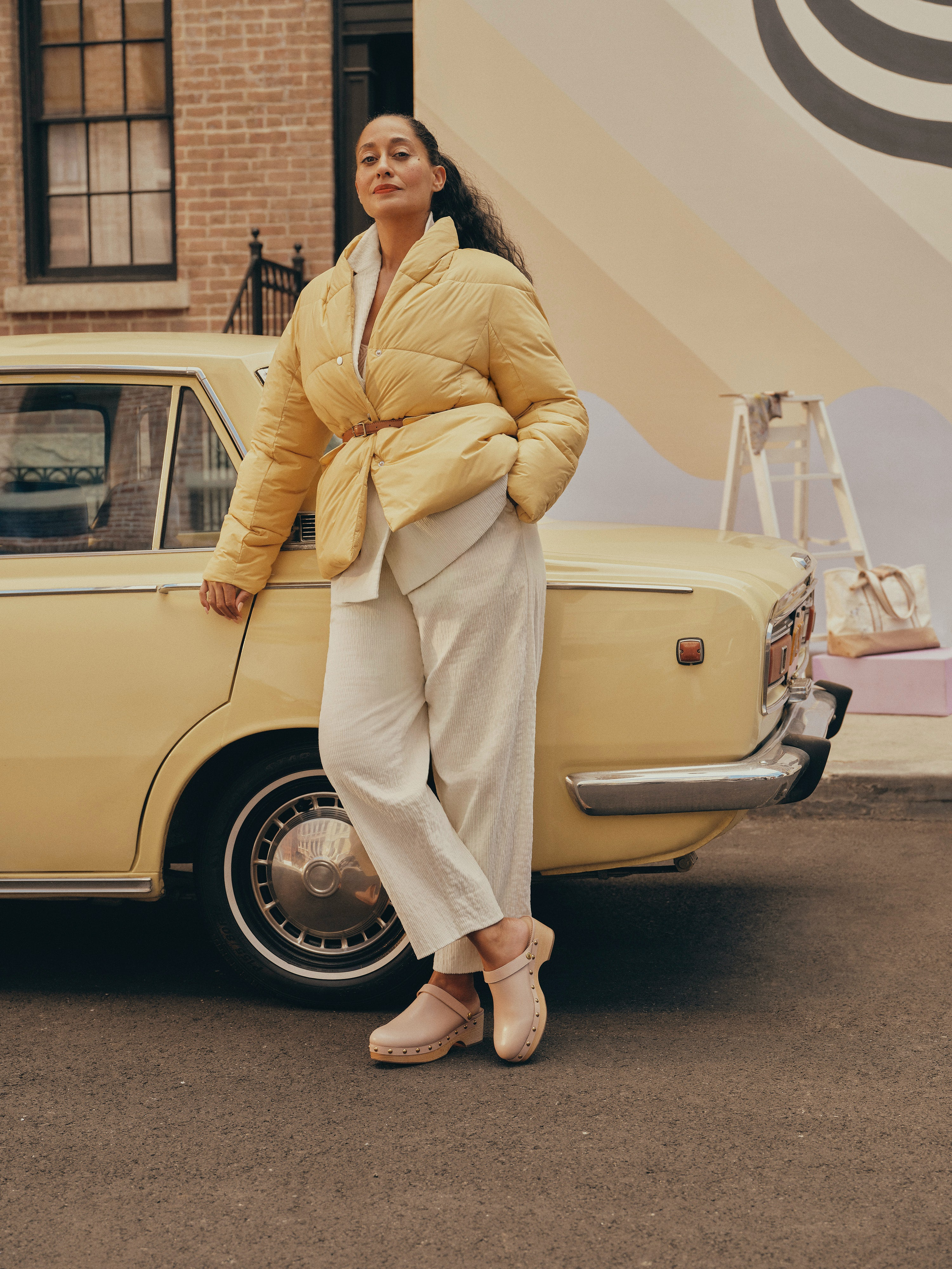 Tracee Ellis Ross in J.Crew\'s new campaign. Courtesy.