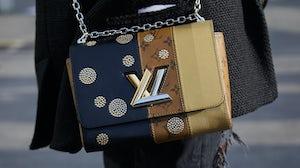 Louis Vuitton handbag. Shutterstock