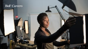 Creative in their photography studio for BoF Careers. Getty Images.