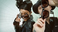 Former Gentle Monster chief executive Won Lee has collaborated with Willow Smith and Harry Hudson for a eyewear launch. Courtesy.