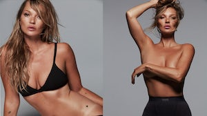 Kate Moss is the new face of Skims. Donna Trope.