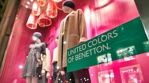 United Colours of Benetton store. Shutterstock.