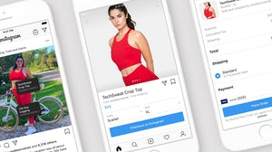 Instagram's Checkout feature allows users to shop directly in the app, through influencer accounts. Courtesy.