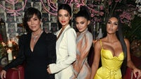 Kris Jenner, Kendal Jenner, Kylie Jenner and Kim Kardashian West at The Business of Fashion dinner its 'The Age of Influence'  special print edition. Getty Images.