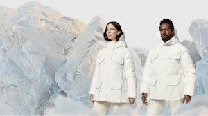 Canada Goose Standard Expedition parkas campaign. Canada Goose.