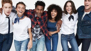 An Abercrombie campaign. Abercrombie & Fitch.