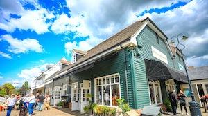 Bicester Village outlet. Shutterstock