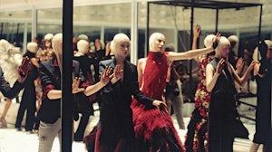 Alexander McQueen's 2001 Voss collection. Chris Moore/Catwalking.com.