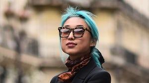 Margaret Zhang is Vogue China's new editor in chief. Daniel Zuchnik/Getty Images