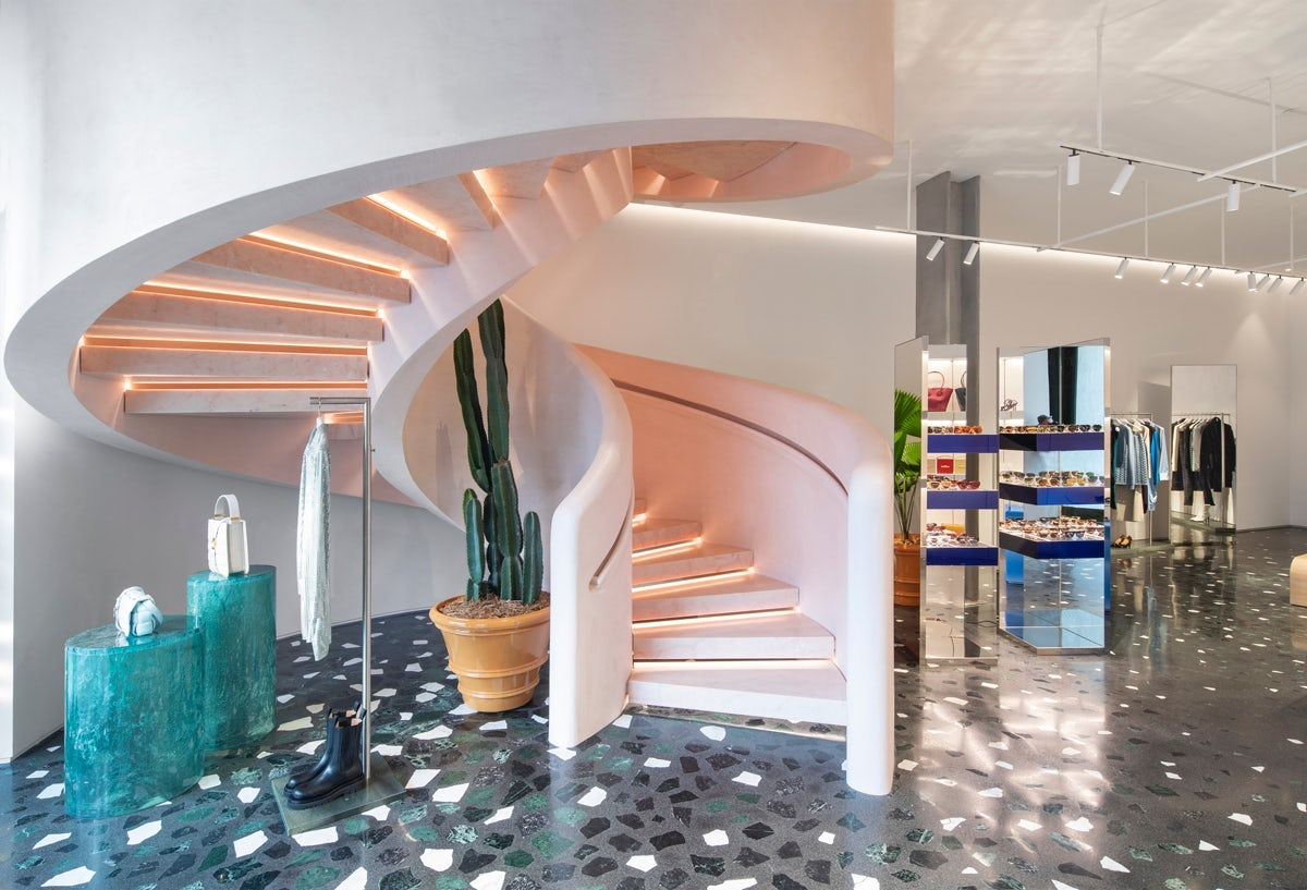 Bottega Veneta started rolling out its new store concept with a boutique in Miami\'s Design District last autumn. Courtesy.