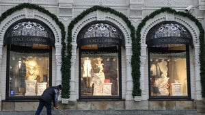 A Dolce & Gabbana store. Getty Images.