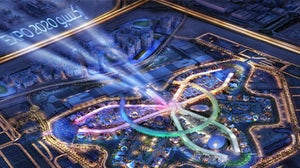 A rendering of the Dubai World Expo 2020 site. World Expo 2020