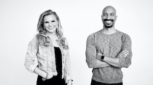 Clearco founders Michele Romanow and Andrew D'Souza. Courtesy.