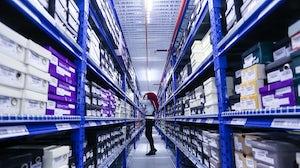 Inside a GFG-owned Zalora warehouse. Global Fashion Group.