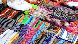 Textiles in Montevideo, Uruguay. Shutterstock.