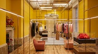 Browns' new Brook Street store in London's Mayfair is opening on April 12, when the UK government lifts coronavirus restrictions on non-essential retailers. Bozho Gagovski.