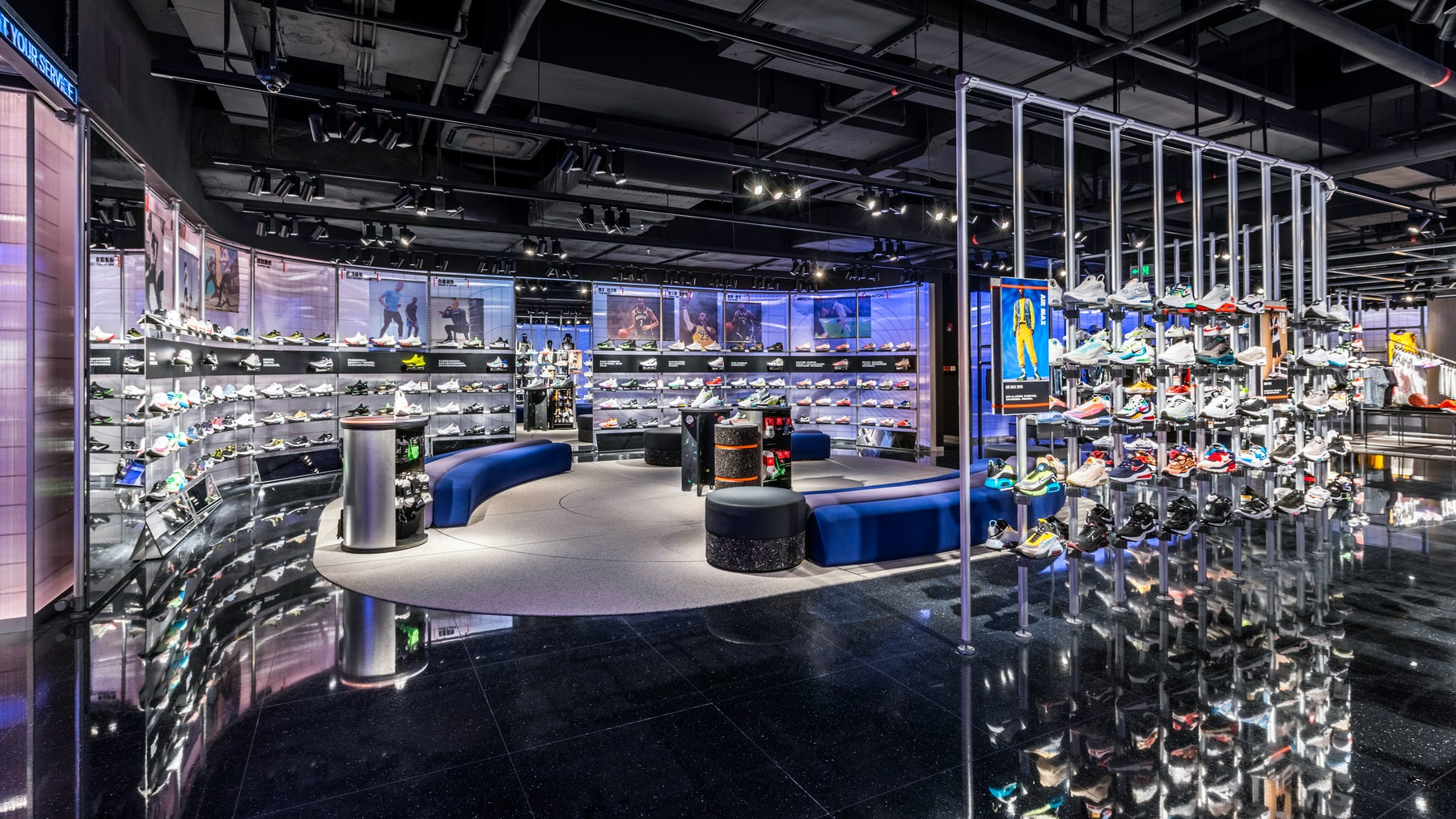 Nike flagship in Guangzhou, China. Nike.