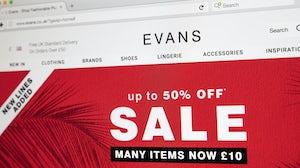 Evans website. Shutterstock.