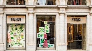 Fendi store in Rome, Italy. Shutterstock.
