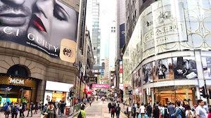 Central Hong Kong. Shutterstock