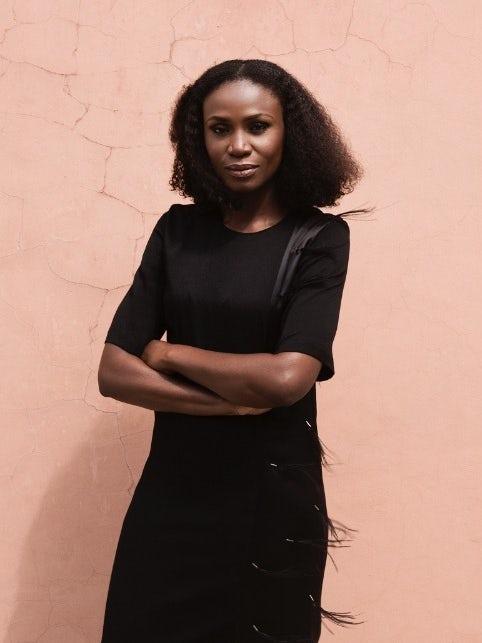 Lagos Fashion Week founder Omoyemi Akerele. Lakin Ogunbanwo.