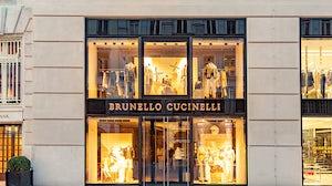 Italian luxury brand Bunello Cucinelli. Shutterstock.