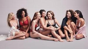 A Victoria's Secret campaign. Courtesy.