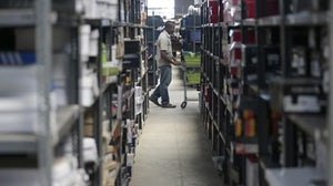 Online retailer Jumia's warehouse in Lagos | Source: Reuters